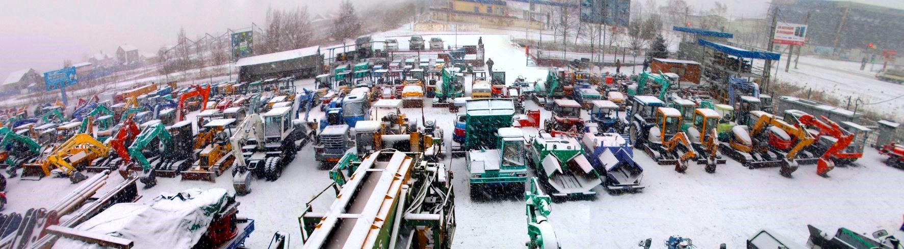 Компания Бигкарс зимой